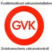 Kvalitetssäkrad våtrumsinstallation, GVK, Golvbranschens våtrumskontroll